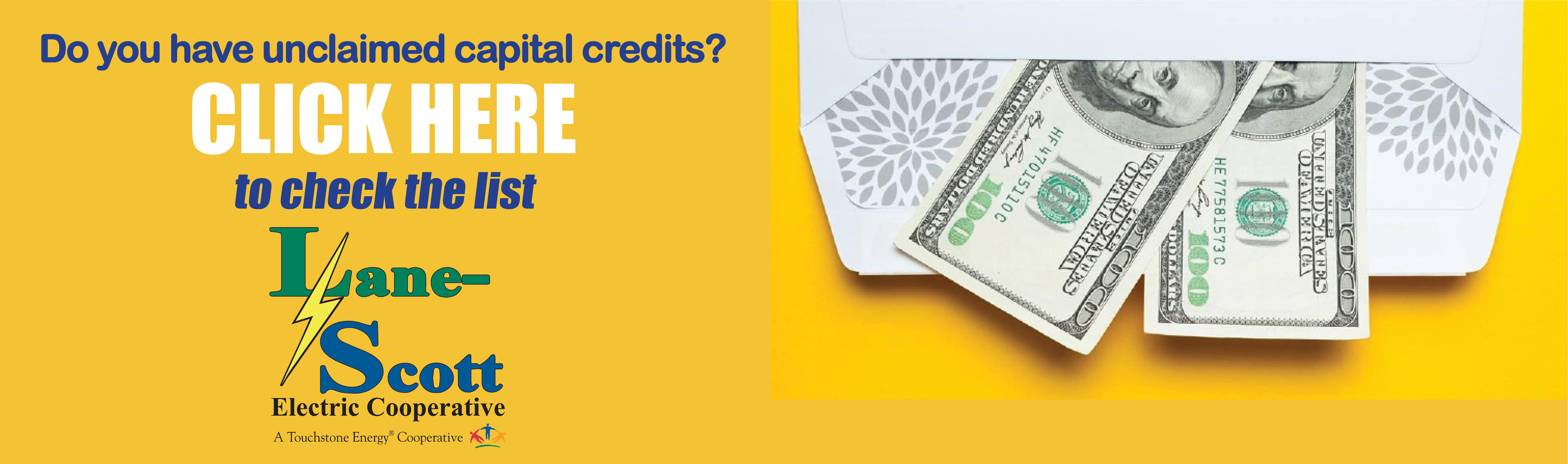 Unclaimed Capital Credits